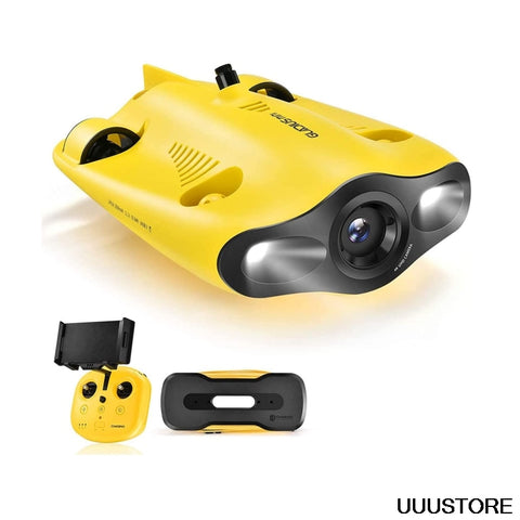 Mini Underwater Drone With 4K HD Camera 2 Hours Working Time One Key Depth Hold Live Stream Diving Rescue Drone