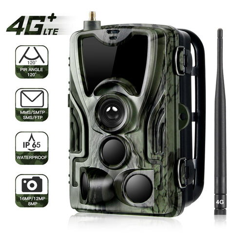 4G Hunting Trail Camera MMS 20MP 1080P Wireless Cellular Wildlife Cameras /Night Vision Photo