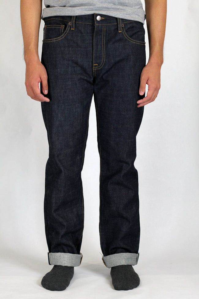 13 oz Indigo Selvedge Slim Tapered Jeans
