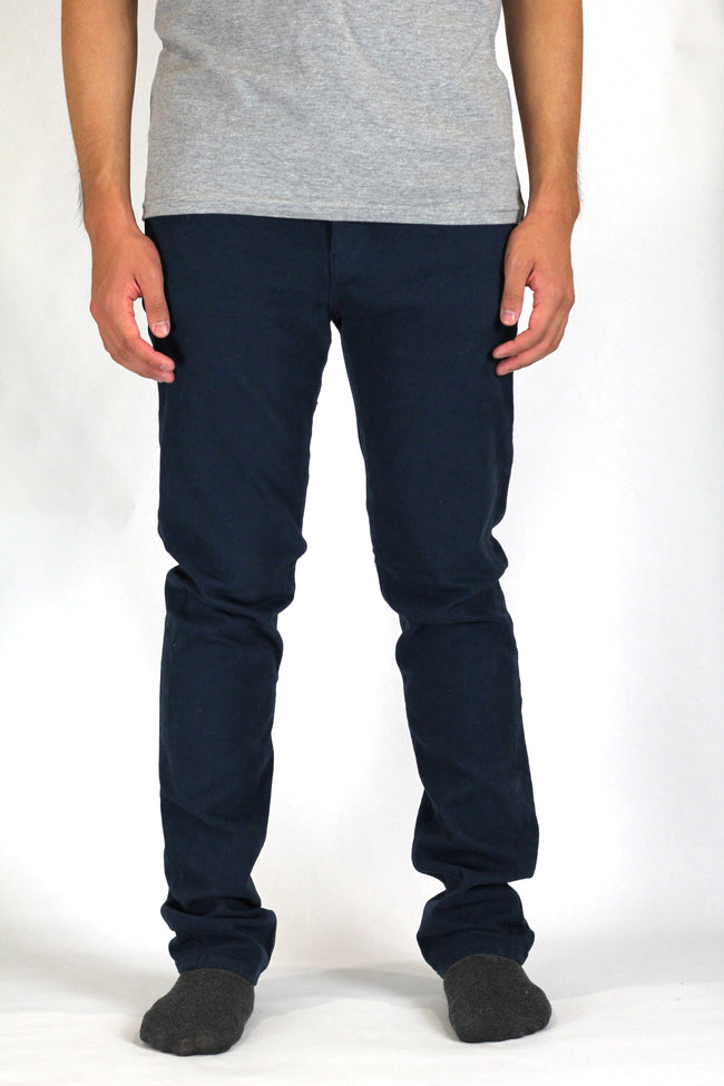 Slim Tapered Navy Stretch Jeans