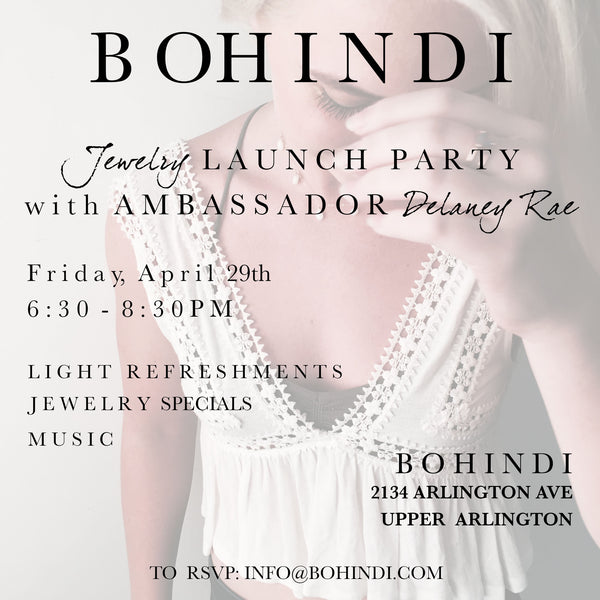 Ambassador Jewelry Lanch Party on April 29th