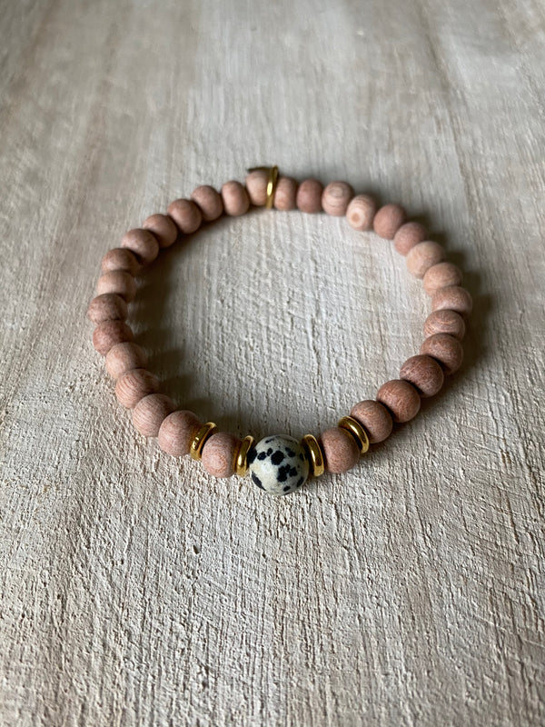 GROUNDING + COMPASSION | OIL DIFFUSER BRACELET