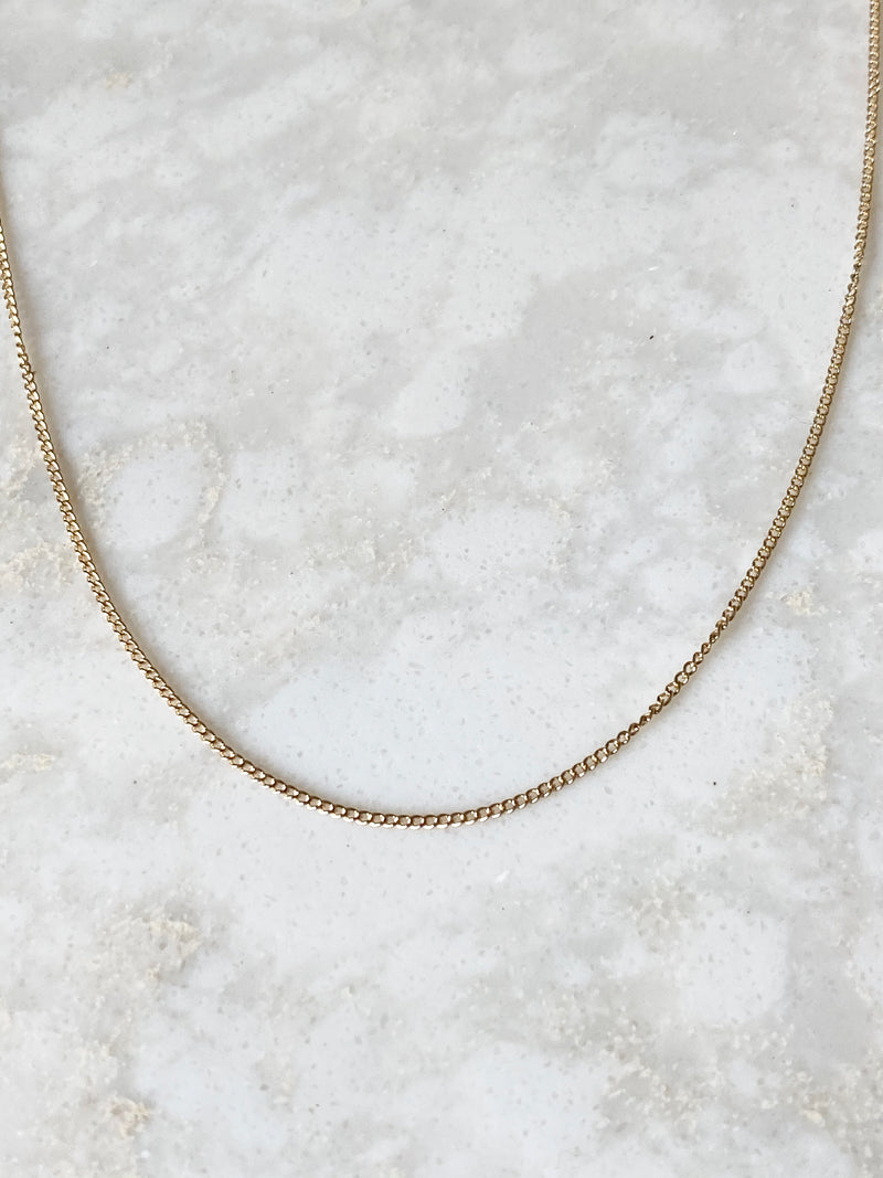 TIA CURB NECKLACE