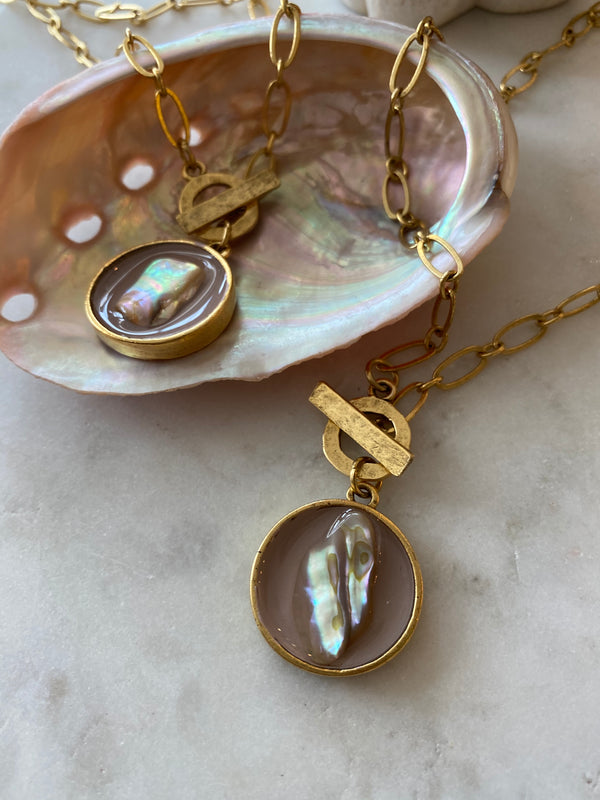 The Soothing Energy Abalone Necklace