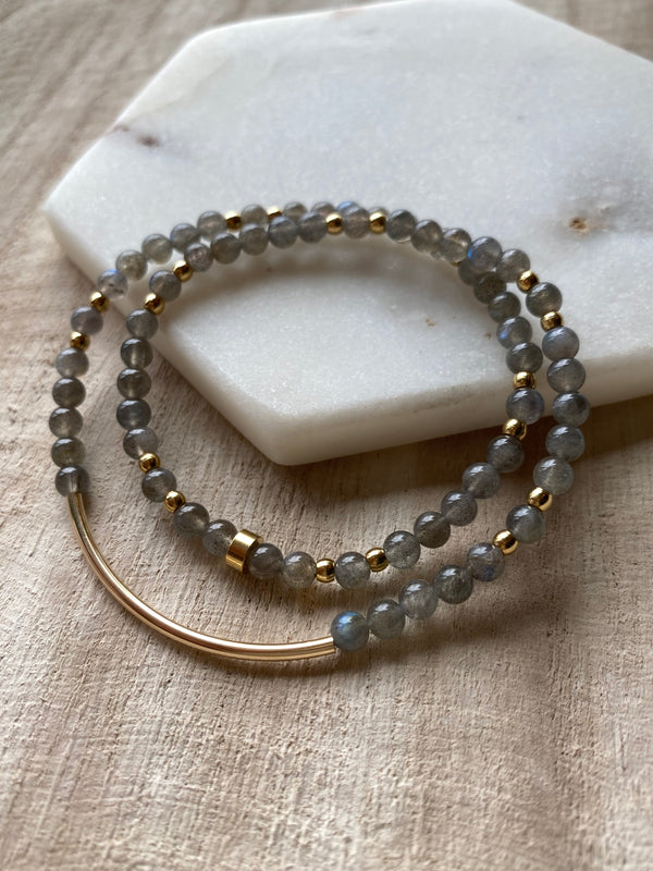My Inner Light Shines Brightly - Labradorite | INTUITION Bracelet