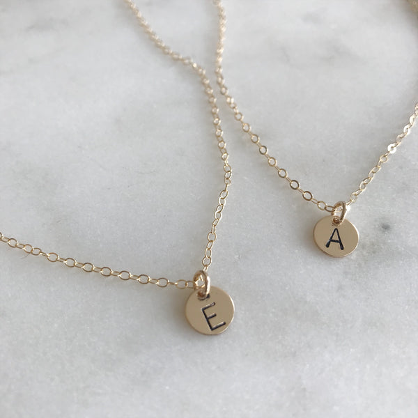 MINI INITIAL NECKLACE