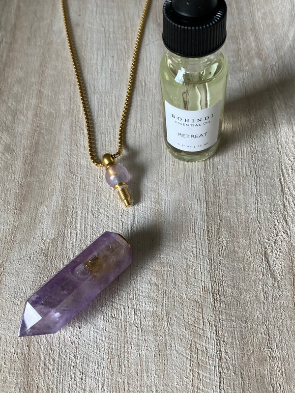 CALM - ESSENTIAL OIL VIAL NECKLACE