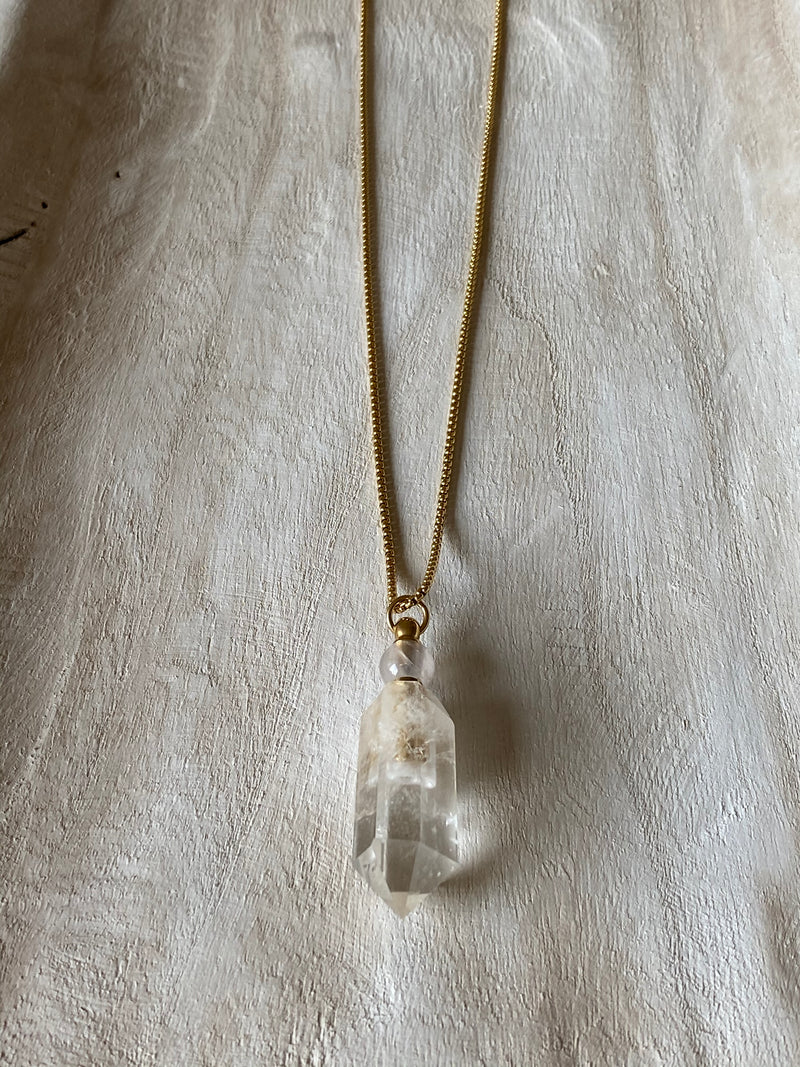 CLARITY - ESSENTIAL OIL VIAL NECKLACE