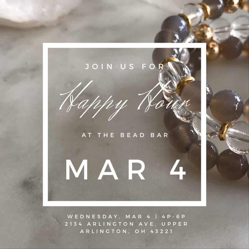 HAPPY HOUR BEAD BAR - MAR 4
