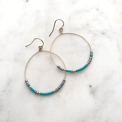 SEA OF INTENTION EARRINGS No. 1