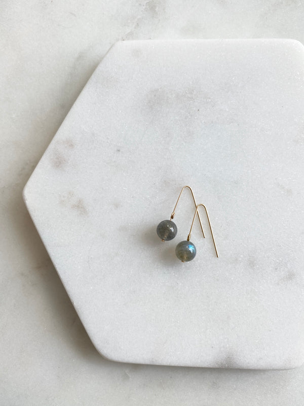 INTUITION | LABRADORITE INTENTION EARRINGS