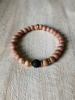 STRENGTH + COMPASSION | OIL DIFFUSER BRACELET