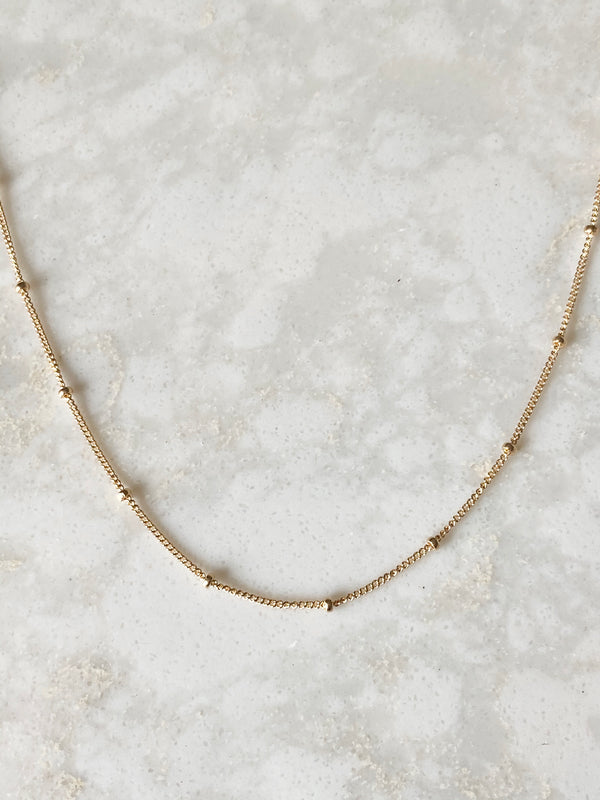 FOREVER SATELLITE NECKLACE