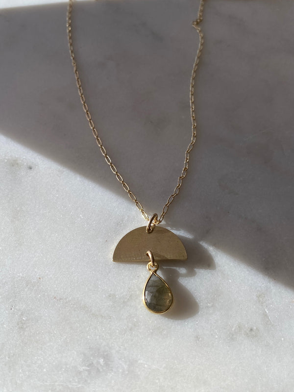 TRANSITION + PROTECTION- THE LYRE RIVER NECKLACE