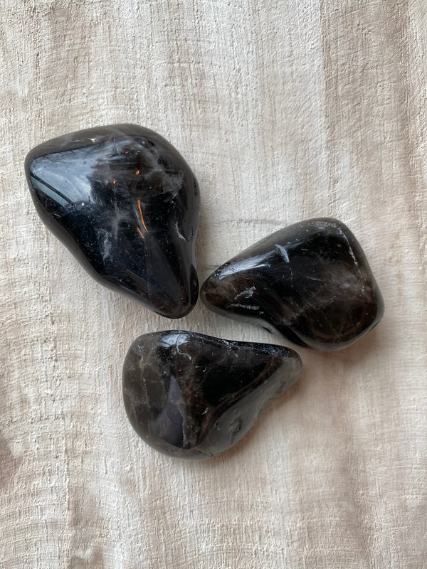 SMOKY QUARTZ TOUCHSTONE | RECHARGE + PROTECTION