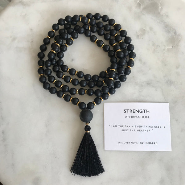 STRENGTH + DETERMINATION MALA