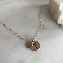 MOMMY & ME DISK NECKLACE