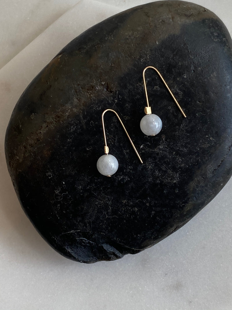 NEW BEGINNINGS | MOONSTONE INTENTION EARRINGS