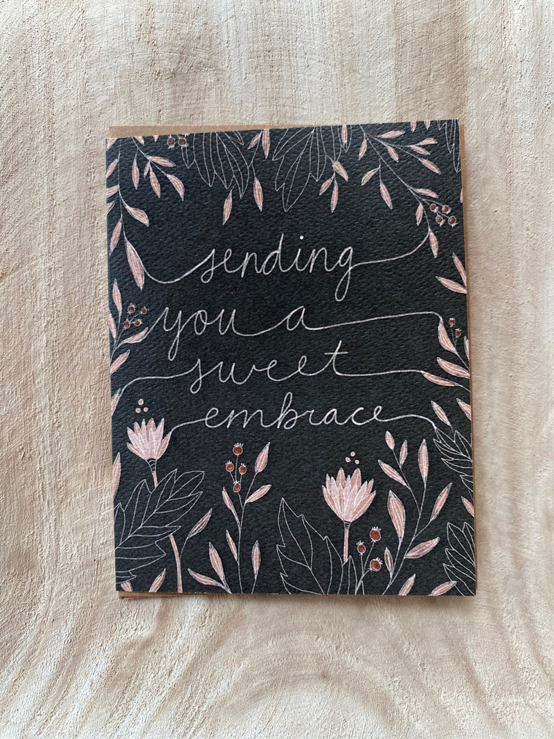 Sweet Embrace Greeting Card