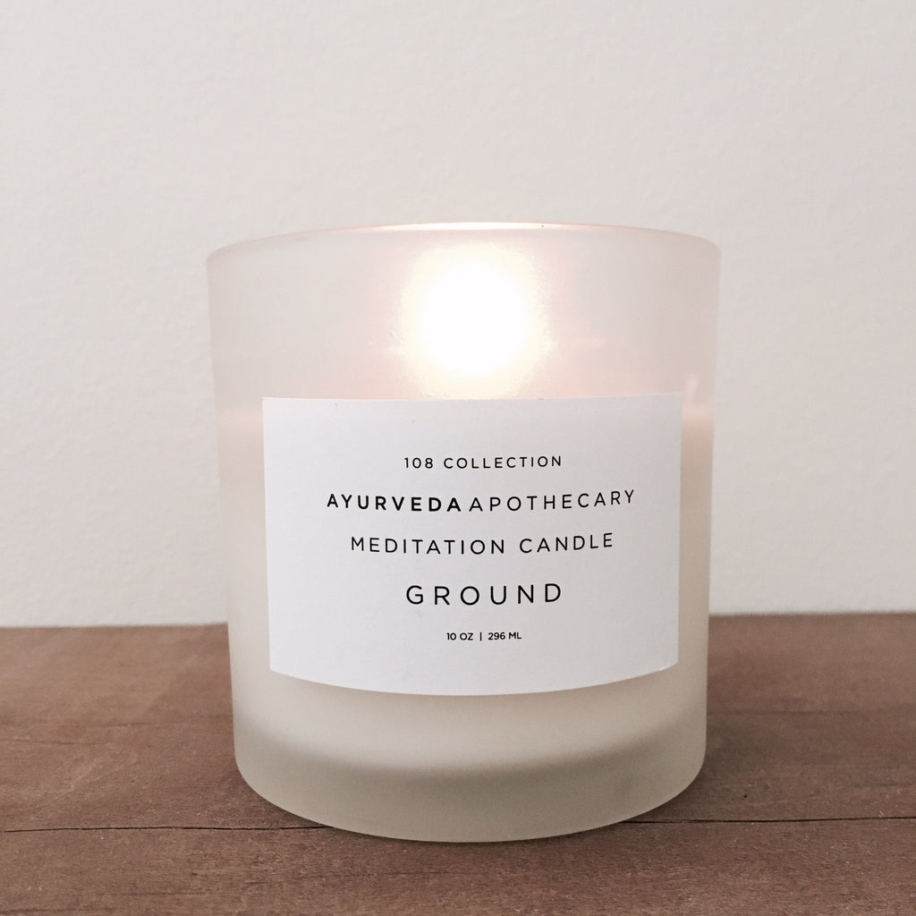 GROUND - AYURVEDA MEDITATION CANDLE by YOKE