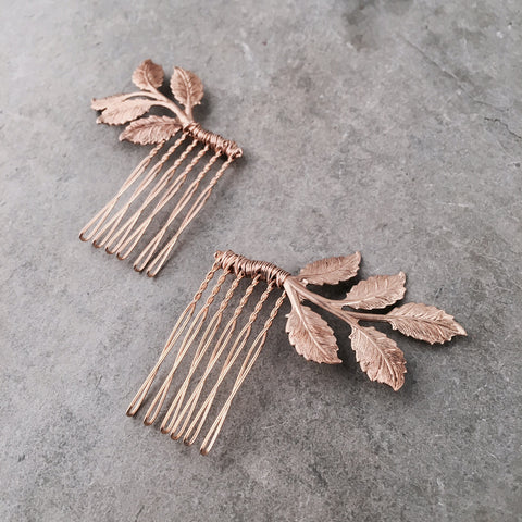 BIRCH LEAVES MINI COMB SET - STYLE 611
