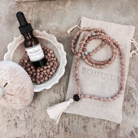 SEPTEMBER 20th - MALA MAKING & ESSENTIAL OIL WORKSHOP