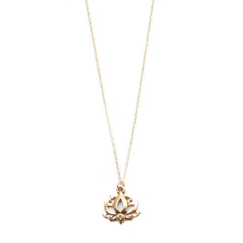 DREAMING LOTUS NECKLACE