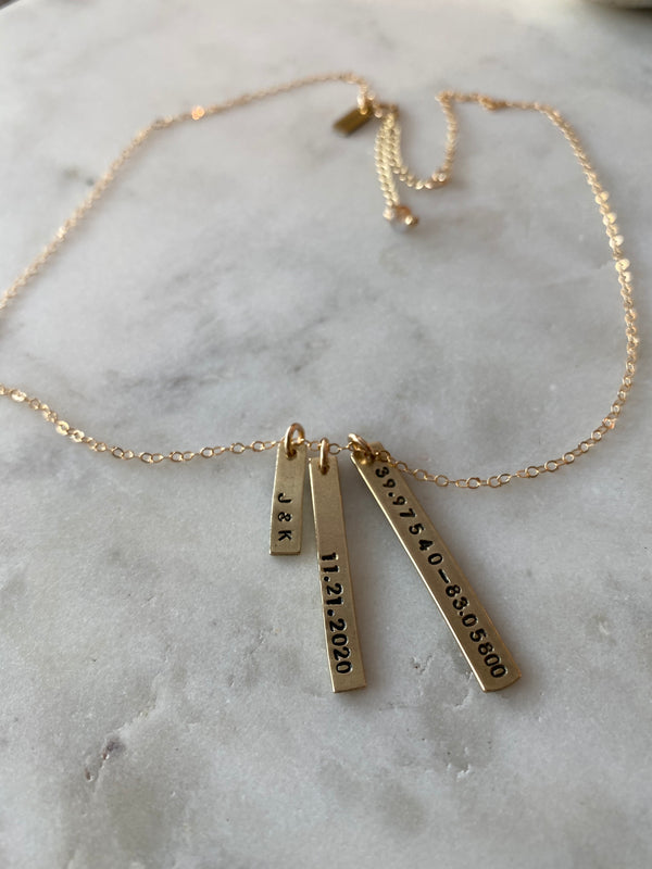 Reminiscent Personalized Necklace