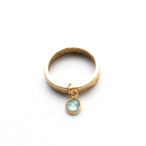 CHALCEDONY GEMSTONE RING