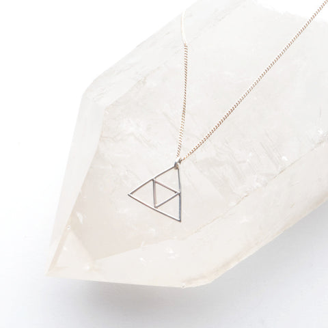 TRIANGLE FOUNDATION NECKLACE
