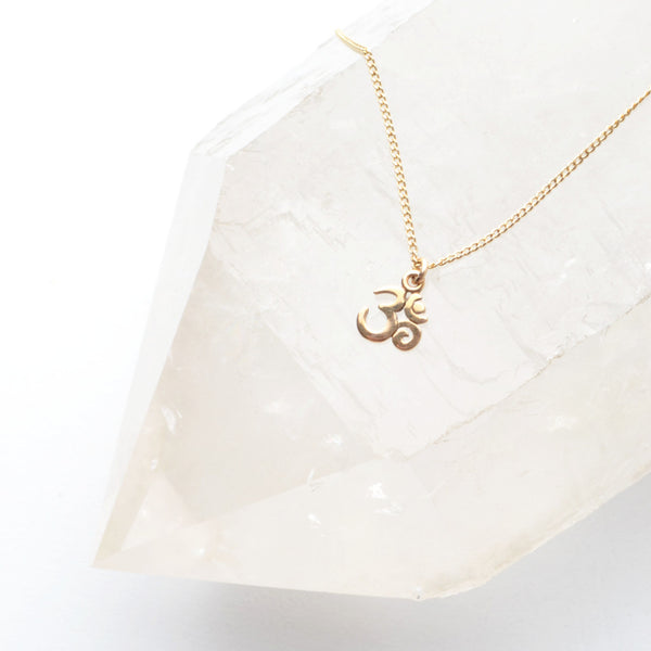 SWEET OM NECKLACE