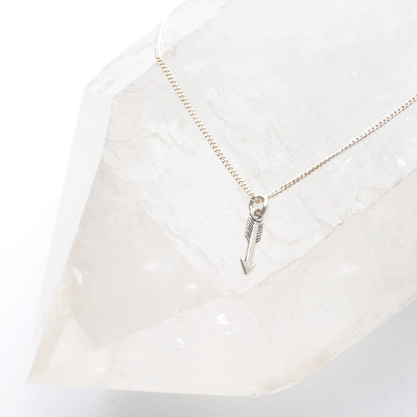 TAKE FLIGHT ARROW NECKLACE