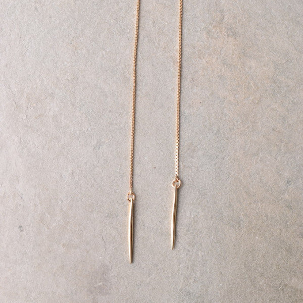 QUILL THREAD EARRINGS