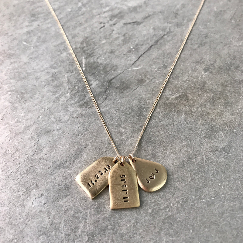 PERSONALIZED BEXLEY NECKLACE