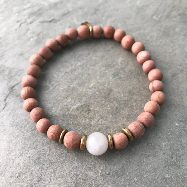 NEW BEGINNINGS + COMPASSION | OIL DIFFUSER BRACELET
