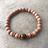 PROTECTION - TIGERS EYE INTENTION DIFFUSER BRACELET