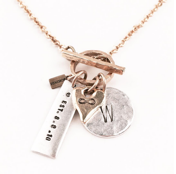 INFINITY PERSONALIZED QUANTUM NECKLACE