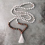 MALA BEADS - BOHINDI made yoga meditation jewelry