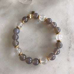 PATIENCE + CLARITY INTENTION BRACELET