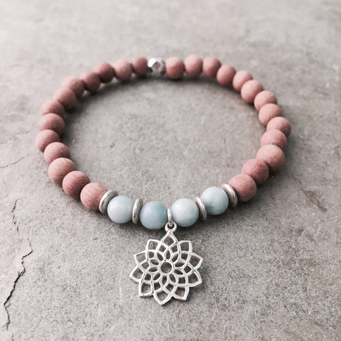 CROWN CHAKRA ESSENTIAL OIL DIFFUSER BRACELET