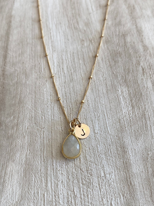 NEW BEGINNINGS | MOONSTONE TEARDROP