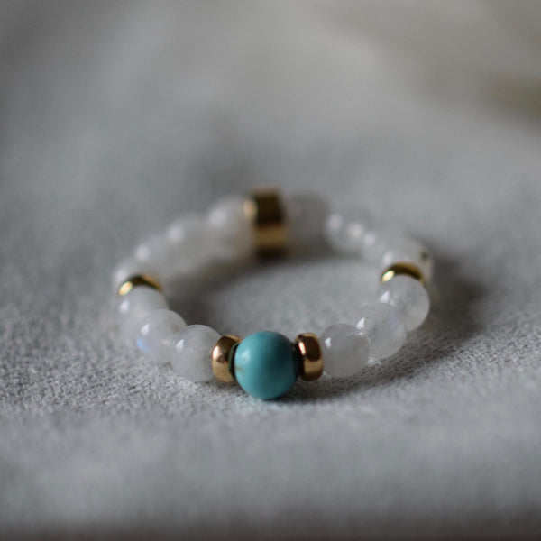 BALANCE + NEW BEGINNINGS - LITTLE RIVER RING