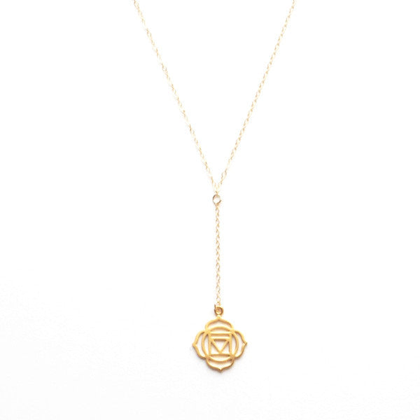 ROOT CHAKRA Y NECKLACE
