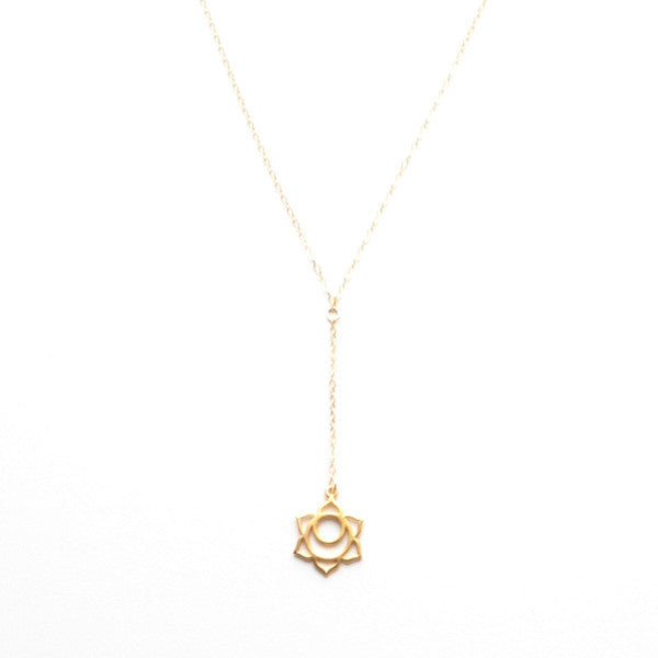 THE SACRAL CHAKRA Y NECKLACE