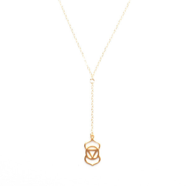THIRD EYE CHAKRA Y NECKLACE