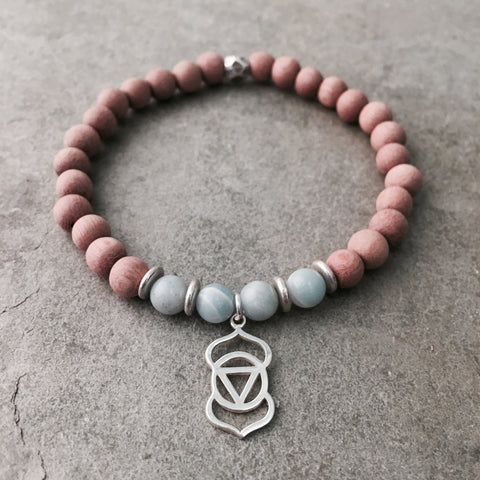 THIRD EYE CHAKRA ESSENTIAL OIL DIFFUSER BRACELET