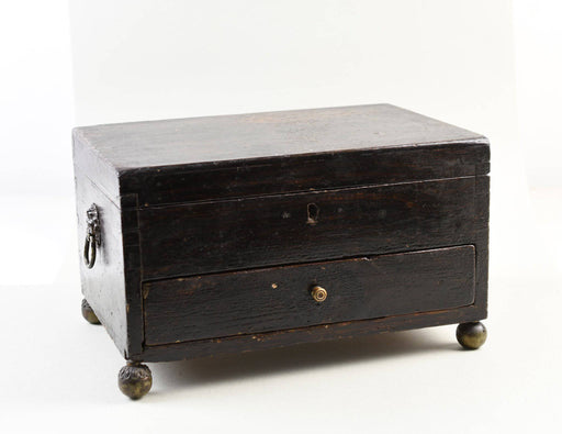 A Victorian Jewellery Box - Greystones Antiques