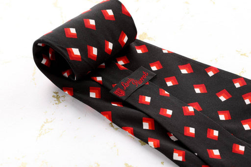 A Wide 1970s Louis Pierrot Tie - Greystones Antiques