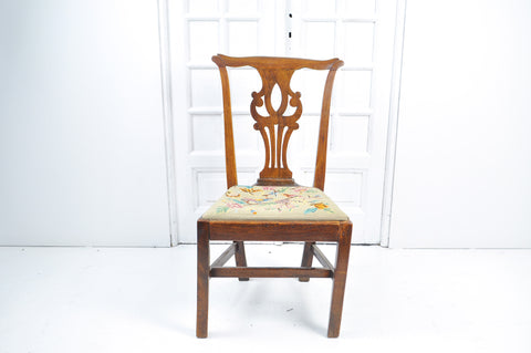 A Georgian Mahogany Country Chair, Late 18th Century
