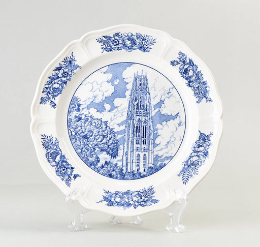 Yale Wedwood Plate - Harkness Memorial Tower 1949 Series - Greystones Antiques